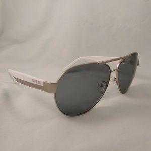 GUESS Rx Sunglasses Aviator Plastic Metal Double